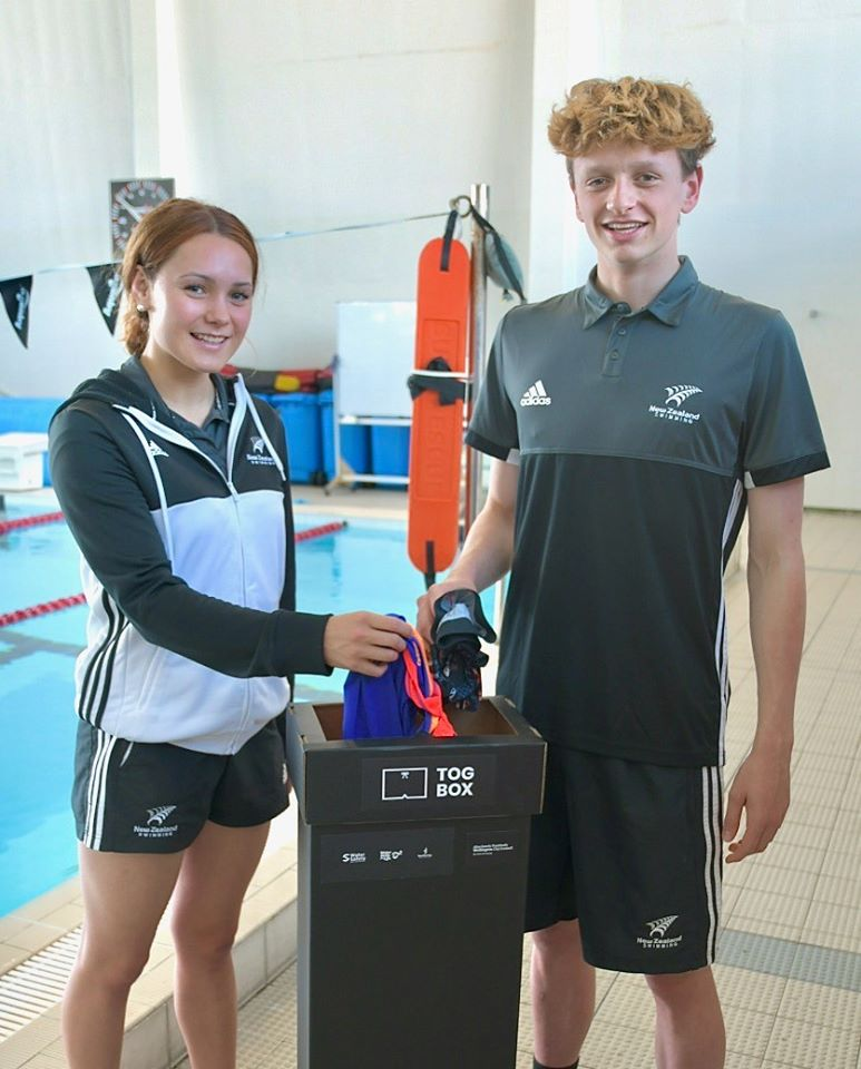 Water Safety NZ & Swimming Wellington Tog Box Initiative